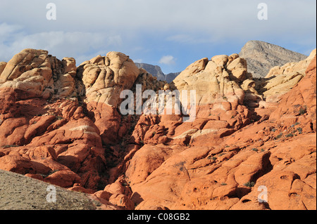 Post übersehen, Red Rock Canyon, Las Vegas, Nv 110130_39297 - Stockfoto