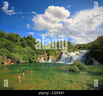 Nationalpark Krka in Kroatien in der Nähe von Sibenik. - Stockfoto