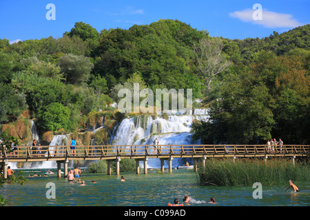 Krka, Nationalpark, Kroatien. - Stockfoto