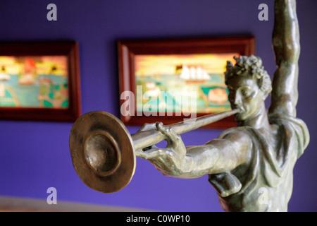 Orlando Florida The Mennello Museum of American Art Skulptur, Malerei - Stockfoto