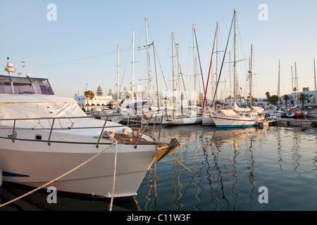 Yachten im Hafen von Monaco, Europa - Stockfoto