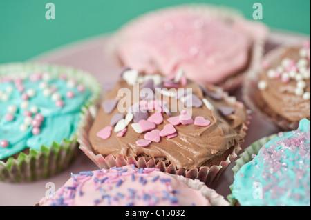 Closeup auf cupcakes - Stockfoto