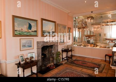 Arundells, die Heimat der ehemalige Premierminister von Großbritannien Sir Edward Heath, in der Nähe von Kathedrale - Stockfoto