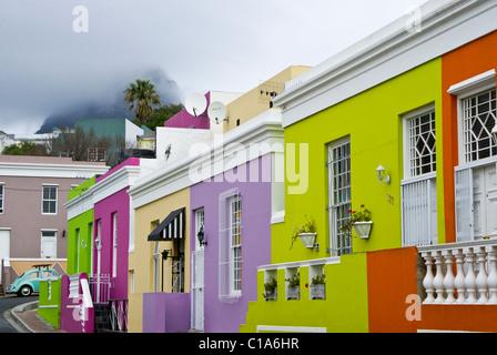 Bo-Kaap Malay Quarter, Cape Town, Western Cape, Südafrika - Stockfoto