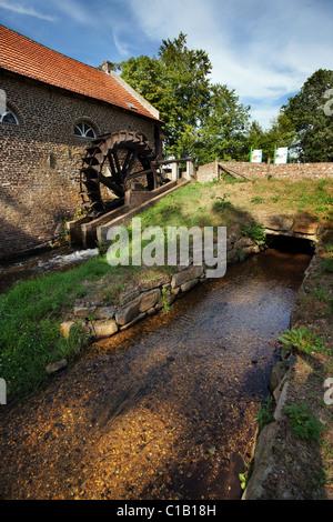 Gitstappermolen / Wassermühle - Stockfoto