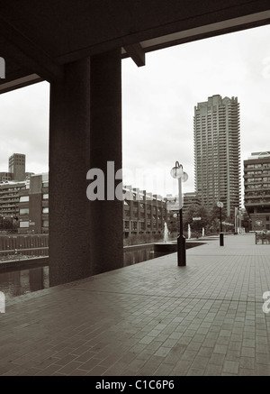 Barbican Centre, London, UK. - Stockfoto