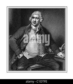 Richard Arkwright 1732 1792 englischen industriellen Illustration aus einer Gravur - Stockfoto
