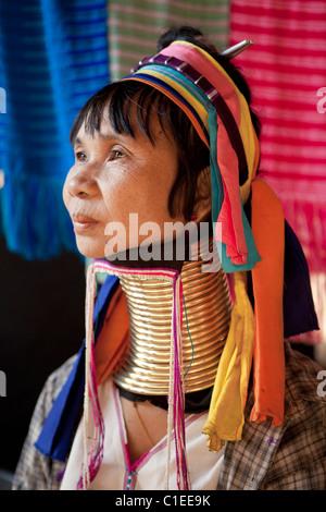 Langhals Karen Frau, Ban Nai Soi, Mae Hong Son, Thailand