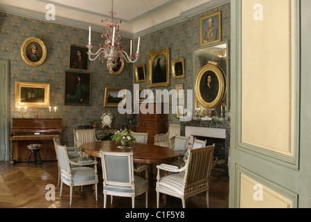 Wohnzimmer Sand | Frankreich Beere George Sand Wohnzimmer Ihres Hauses In Nohant