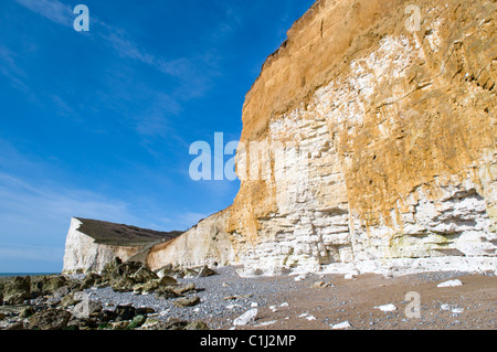 Hoffnung-Lücke im Kopf-Naturreservat Seaford, Ostsussex - Stockfoto