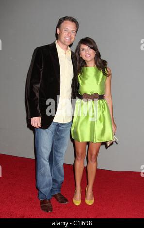 """Chris Harrison & Jillian Harris-Welt-Premiere von """"Der Vorschlag"""" an der El Capitan Theatre Hollywood, California - Stockfoto"""