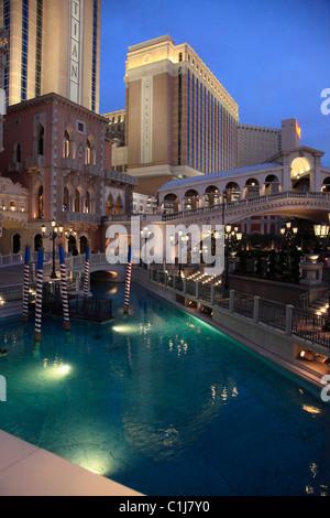 USA, Nevada, Las Vegas, The Venetian, Hotel, Casino, Resort, - Stockfoto