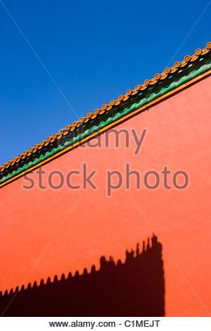 Verbotene Stadt, Peking, China - Stockfoto