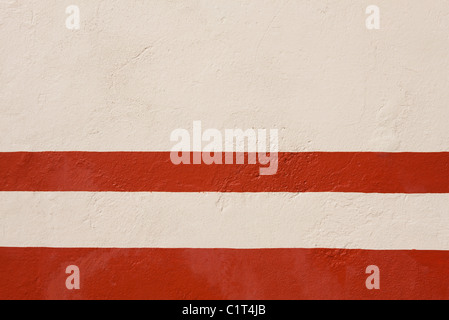 Bemaltem Stuck Wand, close-up - Stockfoto