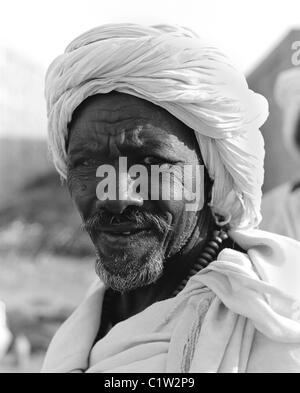 Sudanesische Kamel Trader, Kamelmarkt, Daraw, Oberägypten - Stockfoto