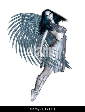 Alien Angel - 1 - Stockfoto