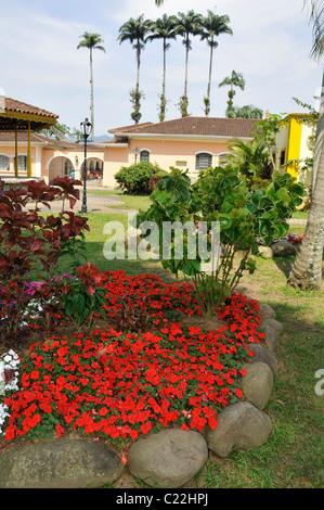 Garten in Morretes, Paraná, Brasilien - Stockfoto