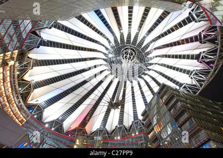 Sony Center Berlin - Stockfoto