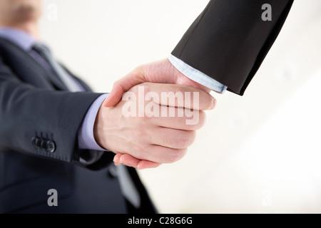 Foto von Geschäftsleuten, die Vereinbarung zu tun - Stockfoto