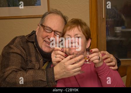 Fotograf Steve Skjold Jubiläum 40 + Hochzeit mit Maria. St Paul Minnesota MN USA - Stockfoto