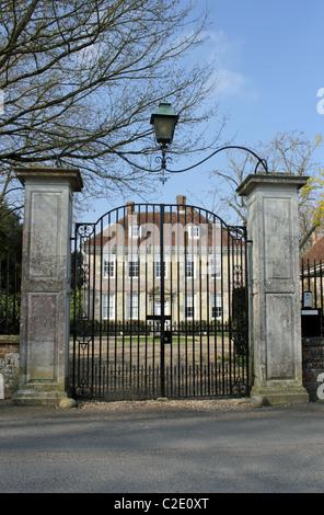 Arundells, die Heimat des ehemaligen britischen Premierministers Sir Edward Heath, Nähe Kathedrale, Salisbury, England, - Stockfoto