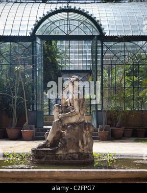 Der Botanische Garten Palermo Sizilien Italien - Stockfoto
