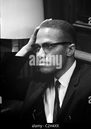 Malcolm X - Stockfoto