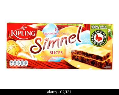 Herr Kipling Simnel Kuchen - Stockfoto