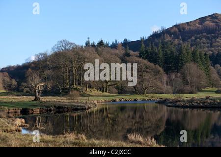 Elter Wasser, Lake District, Cumbria, England, UK. - Stockfoto