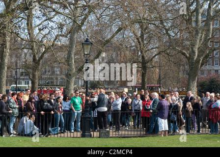 Sprechers Corner, Hyde Park, London - Stockfoto