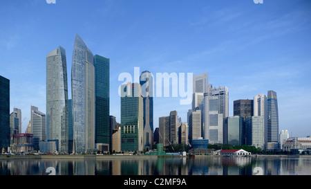 Die Segel, Marina Bay, Singapur. - Stockfoto