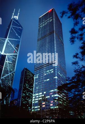 Cheung Kong Center - Stockfoto