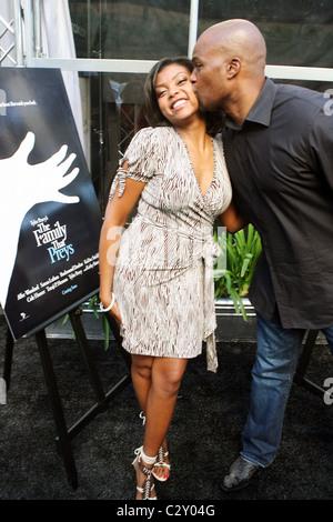 """Henson und Chris Spencer Lincoln präsentiert """"Off the Red Carpet"""" während der 2008 abgehaltenen amerikanischen Black Film Festival"""