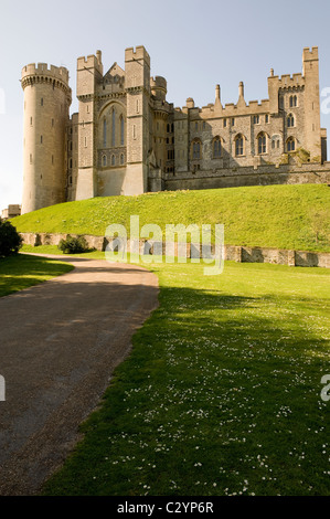 Arundel Castle, Arundel, West Sussex, England, Großbritannien - Stockfoto