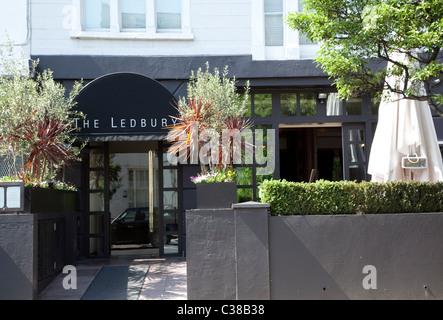 Ledbury, Notting Hill, London bewertet unter 50 weltbesten Restaurants (S Pellegrino) - Stockfoto