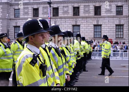 Polizeilinien - Stockfoto