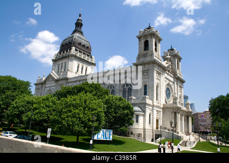 Die Basilika von St. Mary Catholic Church. Minneapolis Minnesota MN USA - Stockfoto