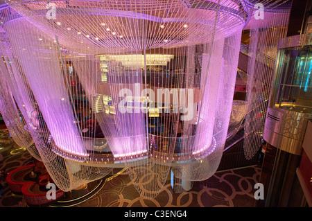 Kronleuchter Bar im Cosmopolitan, Las Vegas, Nevada. - Stockfoto