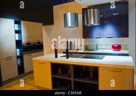 ... Paris, Frankreich, Italienische Küche Designer, Berloni, Messe, U0027Foire  De Paris