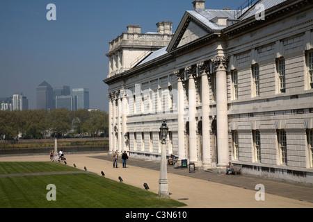 Universität von Greenwich Greenwich London england - Stockfoto