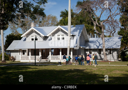 Henry Ford Winter Estate Home in Fort Myers, Florida, Vereinigte Staaten - Stockfoto