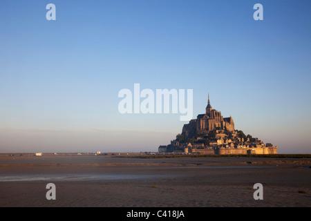 Europa, Frankreich, Normandie, Normandie, Mont St., Mont St Michel, Mont Saint Michel, UNESCO, UNESCO-Weltkulturerbe, - Stockfoto
