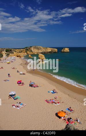 Praia de São Rafael, in der Nähe von Albufeira, Region Distrikt Faro, Algarve, Portugal - Stockfoto