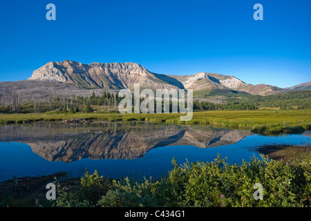 Sofa-Berg, Waterton Lakes National Park, Alberta, Kanada - Stockfoto