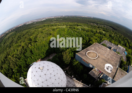 Paperboat Photography — Exploring the radar station at Teufelsberg in...
