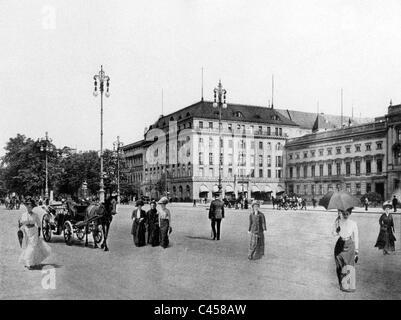 Hotel Adlon in Berlin, vor 1914 - Stockfoto