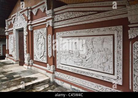 BRAHMA VIHARA ARAMA ist die Insel, die einzige buddhistische Kloster befindet sich in der Nähe von LOVINA im Norden - Stockfoto