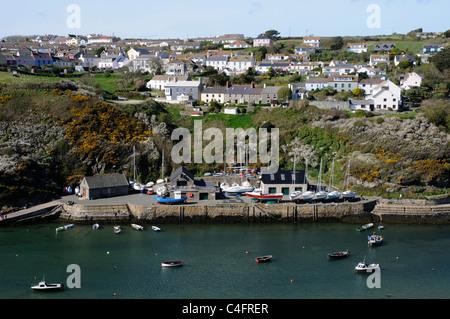 Der Hafen von Solva in Pembrokeshire, Wales - Stockfoto