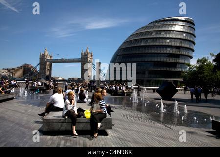 mehr London Southwark London england - Stockfoto