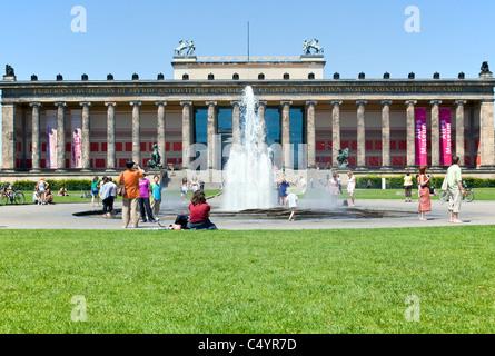 Altes Museum und Lustgarten, Berlin, Deutschland - Stockfoto